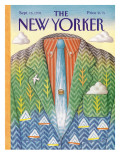 The New Yorker Cover - September 16, 1991 Regular Giclee Print by Bob Knox