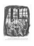 """""""Of course, I'm perfectly willing to pay my income tax, but I stayed home …"""" - New Yorker Cartoon Premium Giclee Print by Barbara Shermund"""