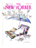 The New Yorker Cover - June 10, 1991 Premium Giclee Print by Ronald Searle