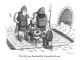 """Um, O.K., yes, Boardwalk for Connecticut Avenue."" - New Yorker Cartoon Premium Giclee Print by Zachary Kanin"