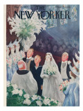 The New Yorker Cover - March 20, 1943 Regular Giclee Print by William Cotton