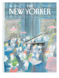 The New Yorker Cover - January 15, 1990 Regular Giclee Print by Jean-Jacques Sempé
