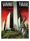 Vanity Fair Cover - April 1933 Premium Giclee Print by Miguel Covarrubias