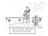 'Reassigned Pending an Investigation' - New Yorker Cartoon Premium Giclee Print by Mike Twohy