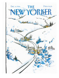 The New Yorker Cover - December 8, 1986 Premium Giclee Print by Arthur Getz