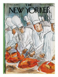 The New Yorker Cover - November 28, 1964 Premium Giclee Print by Perry Barlow