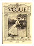 Vogue Cover - August 1907 Premium Giclee Print by C. Freeman