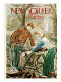 The New Yorker Cover - November 16, 1946 Regular Giclee Print by Julian de Miskey
