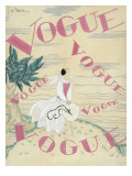 Vogue - June 1924 Regular Giclee Print by Georges Lepape