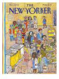 The New Yorker Cover - November 9, 1992 Regular Giclee Print by Mark Alan Stamaty