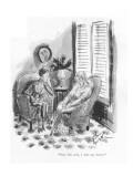 """Now I'm well, I miss my doctor."" - New Yorker Cartoon Premium Giclee Print by Barbara Shermund"