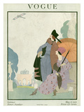 Vogue Cover - May 1918 Premium Giclee Print by Helen Dryden