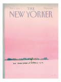 The New Yorker Cover - February 4, 1985 Regular Giclee Print by Susan Davis