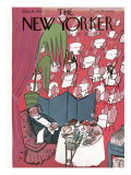 The New Yorker Cover - October 16, 1943 Premium Giclee Print by Ludwig Bemelmans