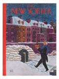 The New Yorker Cover - December 21, 1940 Regular Giclee Print by Robert J. Day