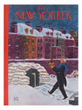 The New Yorker Cover - December 21, 1940 Premium Giclee Print by Robert J. Day