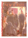 The New Yorker Cover - April 7, 1956 Premium Giclee Print by Garrett Price