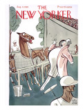 The New Yorker Cover - August 11, 1928 Regular Giclee Print by Peter Arno