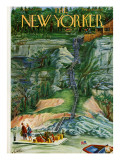 The New Yorker Cover - July 24, 1948 Premium Giclee Print by Constantin Alajalov