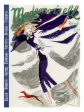 Mademoiselle Cover - March 1937 Regular Giclee Print by Elizabeth Dauber