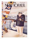 The New Yorker Cover - July 22, 1933 Premium Giclee Print by Constantin Alajalov