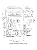"""I feel like I'm not living up to my zip code."" - New Yorker Cartoon Premium Giclee Print by Barbara Smaller"