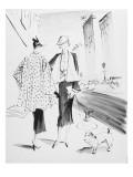Vogue - March 1936 Regular Giclee Print by René Bouét-Willaumez