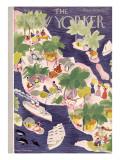 The New Yorker Cover - February 2, 1935 Regular Giclee Print by Roger Duvoisin