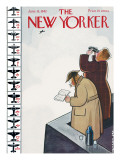 The New Yorker Cover - June 13, 1942 Premium Giclee Print by Rea Irvin