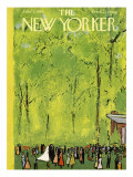 The New Yorker Cover - June 7, 1958 Regular Giclee Print by Abe Birnbaum