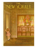 The New Yorker Cover - September 29, 1951 Premium Giclee Print by Edna Eicke