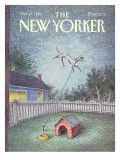 The New Yorker Cover - October 21, 1991 Premium Giclee Print by John O'brien