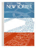 The New Yorker Cover - July 4, 1959 Premium Giclee Print by Anatol Kovarsky