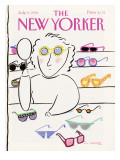The New Yorker Cover - July 9, 1990 Regular Giclee Print by Merle Nacht