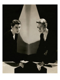 Vanity Fair - April 1932 Regular Photographic Print by Tony Von Horn