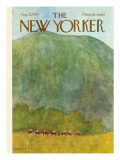 The New Yorker Cover - August 22, 1970 Regular Giclee Print by James Stevenson