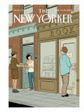 The New Yorker Cover - June 9, 2008 Regular Giclee Print by Adrian Tomine