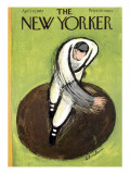 The New Yorker Cover - April 13, 1957 Premium Giclee Print by Abe Birnbaum