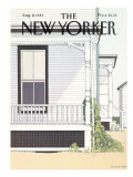 The New Yorker Cover - August 9, 1982 Premium Giclee Print by Gretchen Dow Simpson