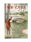 The New Yorker Cover - January 27, 1940 Premium Giclee Print by Constantin Alajalov