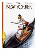 The New Yorker Cover - August 11, 1934 Regular Giclee Print by Constantin Alajalov