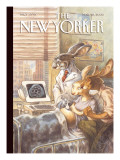 The New Yorker Cover - March 28, 2005 Premium Giclee Print by Peter de Sève