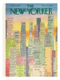 The New Yorker Cover - September 8, 1962 Premium Giclee Print by Charles E. Martin