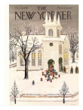 The New Yorker Cover - December 18, 1948 Premium Giclee Print by Edna Eicke