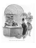 """""""Such a heavenly night I spent in your bed."""" - New Yorker Cartoon Premium Giclee Print by Barbara Shermund"""