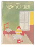 The New Yorker Cover - February 15, 1982 Regular Giclee Print by Heidi Goennel