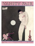 Vanity Fair Cover - April 1927 Regular Giclee Print by Georges Lepape