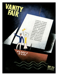 Vanity Fair Cover - May 1931 Regular Giclee Print by Jean Carlu