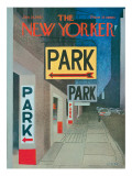 The New Yorker Cover - January 28, 1967 Regular Giclee Print by Charles E. Martin