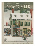 The New Yorker Cover - December 21, 1946 Premium Giclee Print by Edna Eicke